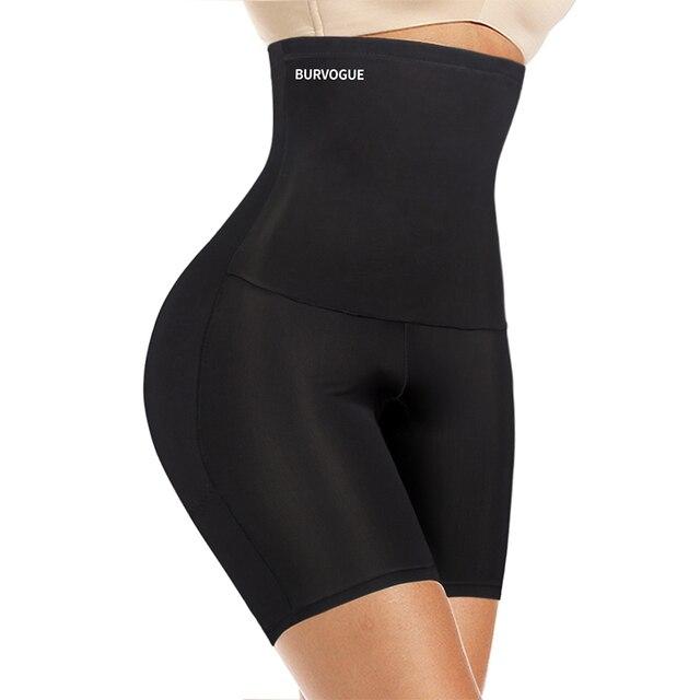 Burvogue High Waist Tummy Control Panties Slimming Waist Trainer Butt Lifter Shapewear Seamless Sexy Underwear Body Shaper Panty