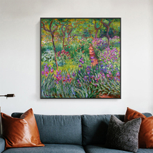 Monet Garden Canvas Paintings Flowers Prints And Posters For Living Room Wall Unframed Home Decorative Pictures human organs anatomy chart posters and prints canvas art decorative wall pictures for living room home decor unframed painting