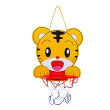 Детский мультфильм изображения можно поднимать и опускать баскетбол стенд с насосом спортивные игрушки