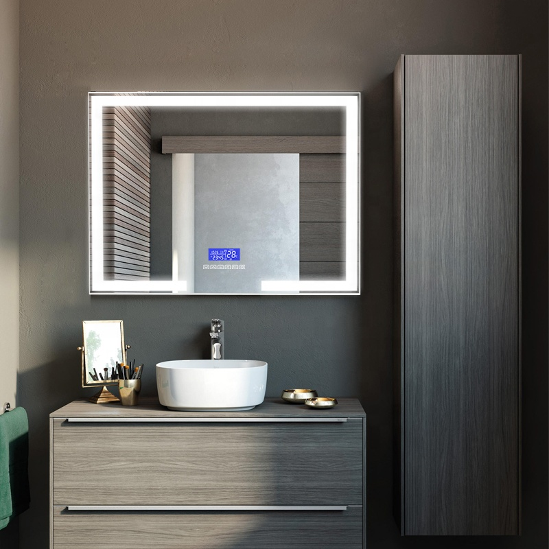 New Arrival Bluetooth Bathroom Phone Call Vanity Makeup Mirror Smart Music Led Light Mirror