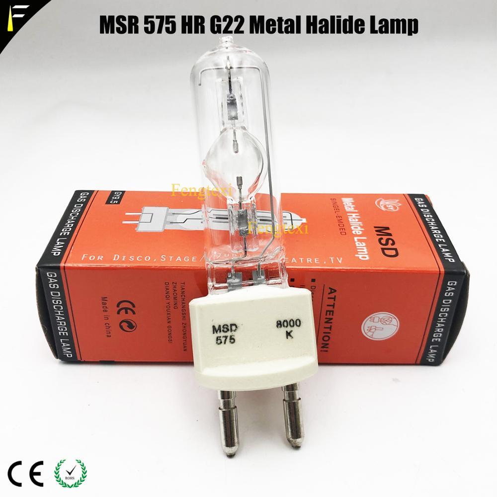 Msd575/2 NSD575 G22/GX9.5 Computer Moving Head Light Lamp Soure Msd 575w Auto Show Lamp Spotlight Bulb HSD 575/60