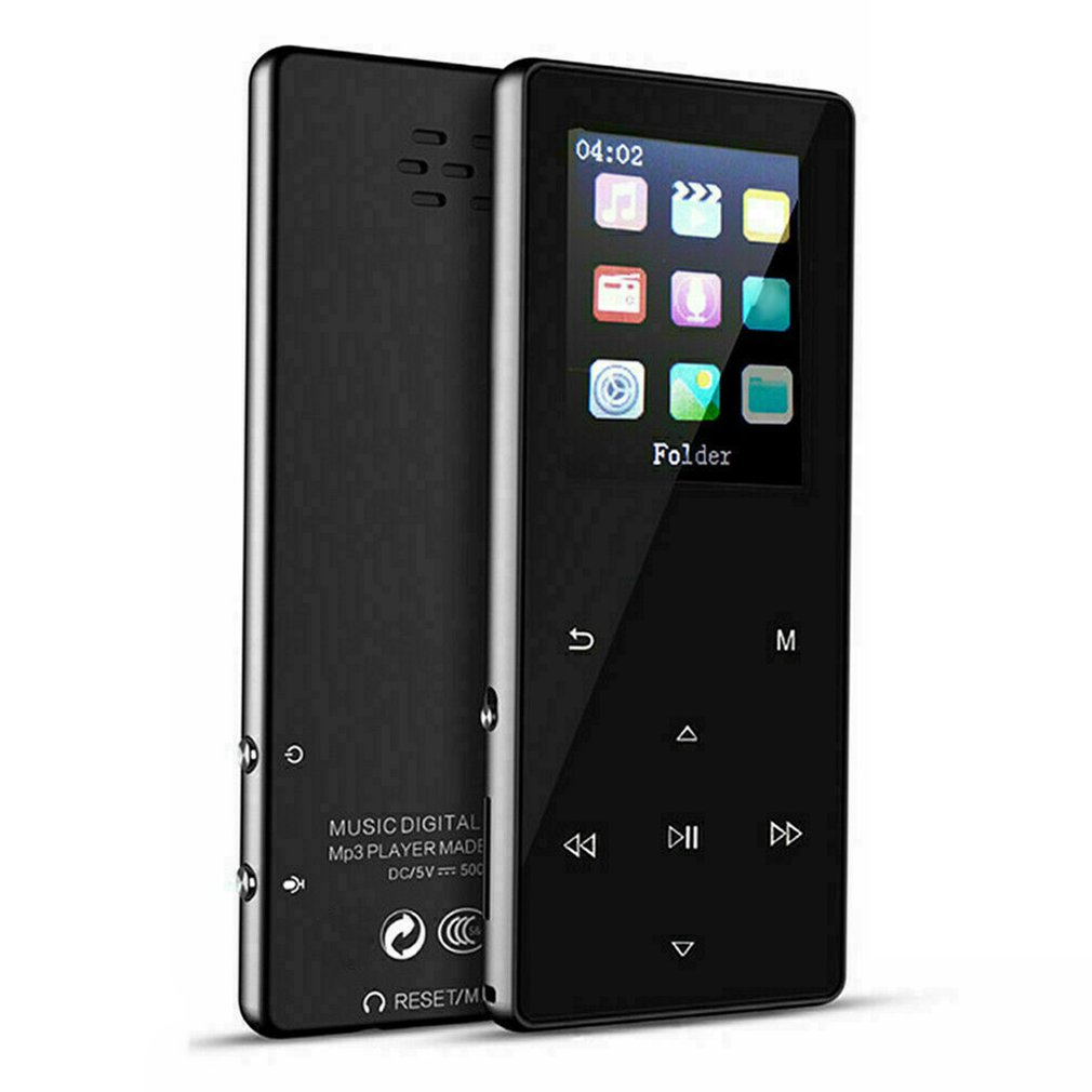 1.8 Inch K1 Touch Metal External Release Portable MP3 Music Player With FM Hi-Fi Lossless Support Up To 128GB