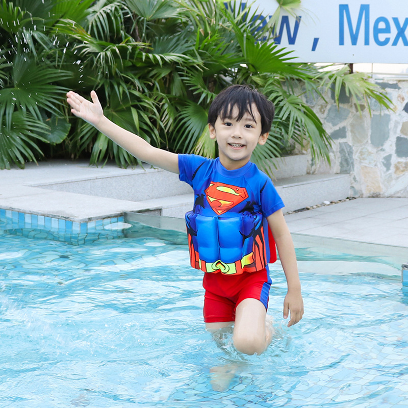 KID'S Swimwear Girls BOY'S Swimsuit Infant Baby Swimwear One-piece Floating Vest Bathing Suit