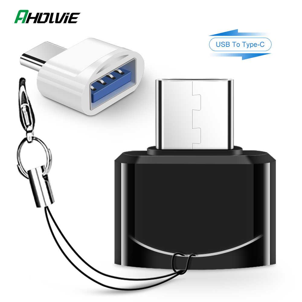 USB 3,0 tipo-C OTG adaptador de Cable tipo C USB-C convertidor OTG para MacBook Pro Huawei Xiaomi Samsung S9 S10 oneplus 6t 7t USB-C OTG