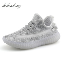 Night reflective Stars exclusive design womens flats Wear-resistant fashion sneakers women ultra boosts hot zapatillas mujer