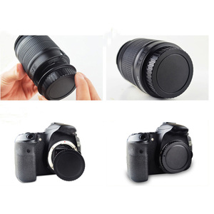Image 5 - 50 짝/몫 카메라 바디 캡 + 캐논 1000d 500d 550d 600d ef EF S 반란군 t1i eos 카메라 용 후면 렌즈 캡