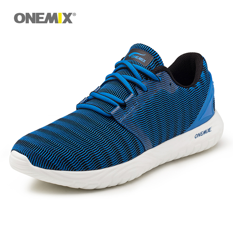ONEMIX Men Running Shoes Run Sports Athletic Shoes Super Light Retro Classic Athletic Trainers Outdoor Trail Walking Sneakers