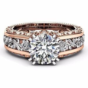 Image 2 - Rbnyd nova moda senhoras anel de cristal zircon europa e américa moda acessórios senhoras casamento noivado presente natal