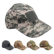 Уличная охотничья шляпа шапка тактическая спортивная бейсболка кепки с полосками камуфляжная шляпа простота Военная армейская камуфляжная шапка для мужчин шапка для взрослых