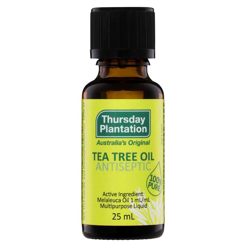 Australia 100% Pure Tea Tree Essential Oil 25ml Acne Treatment Remove Shrink Pore face care tea tree oil powerful Acne Remover