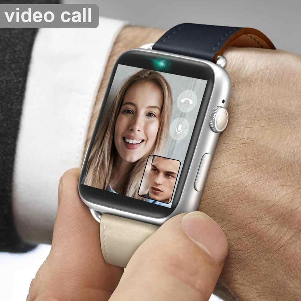 Lemfo lem10 4g android 7.1 relógio inteligente 3 gb + 32 gb suporte sim cartão câmera 780 mah bateria gps wifi 1.88 polegada telefone relógio masculino mulher