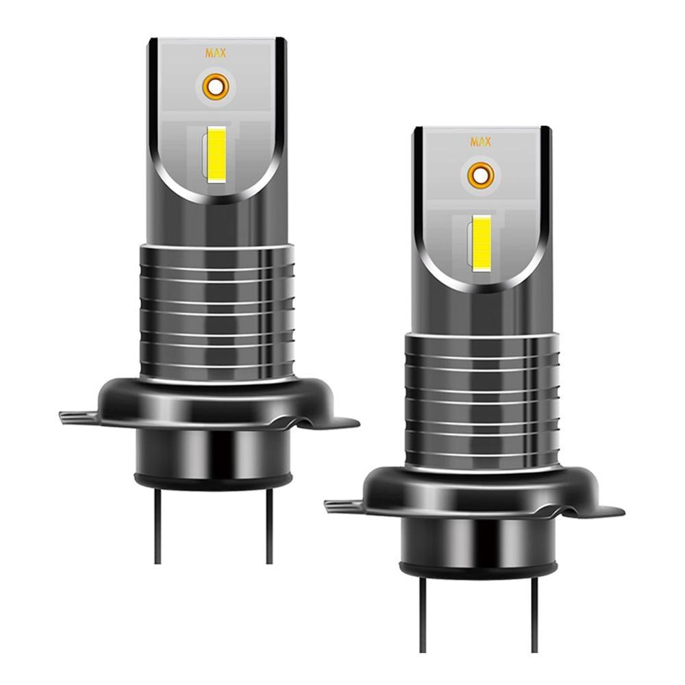 2PCS H7 Car 5050 CSP LED Headlight Kit Canbus Error Free Head Lamp Bulbs 6000K 30000LM 110W LED Fog Light Bulb Day Running Light