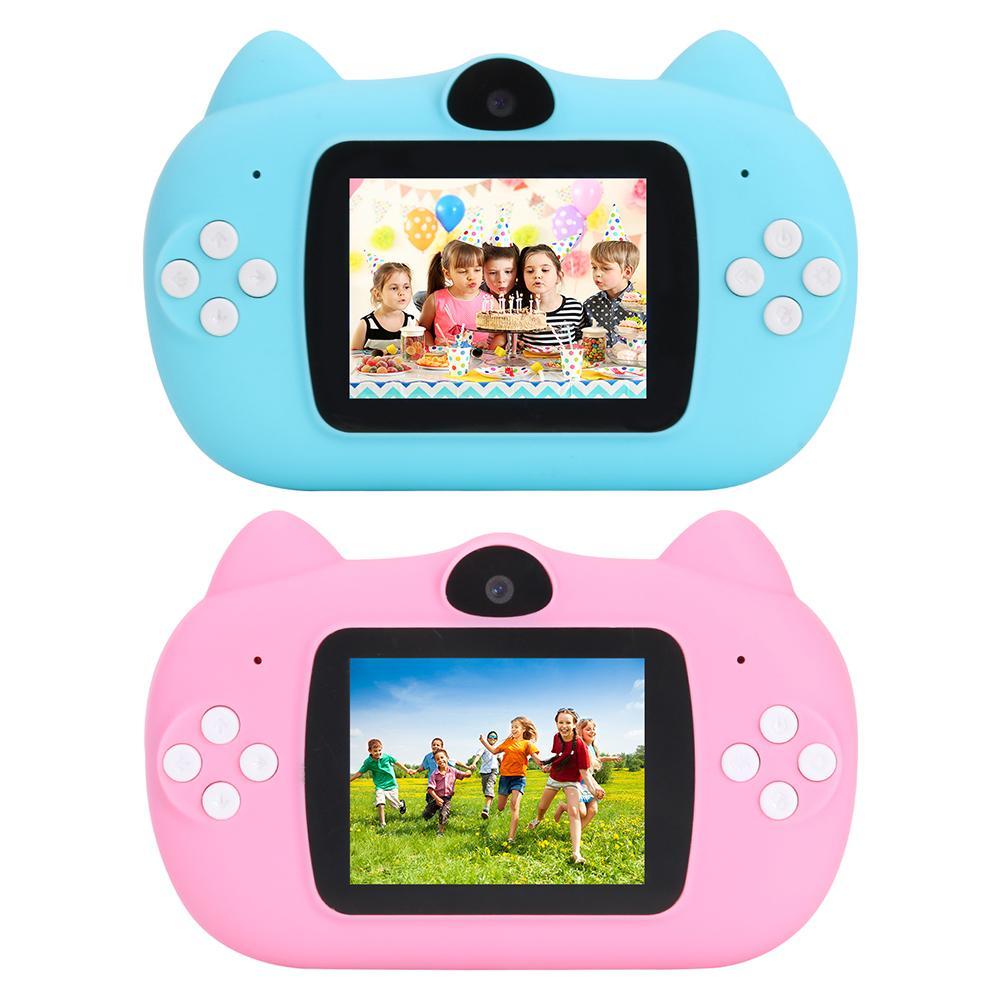 12 Million Pixel 1080P Photo Video Camera High Definition Electrodeless Zoom 2.0 Inch Kids Mini Digital SLR Camera