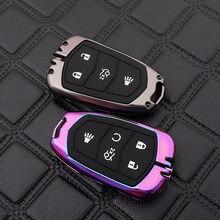 Porte-clés en alliage de Zinc pour Cadillac, étui pour clé de voiture, pour Cadillac ATS CT6 CTS Escalade SRX XT4 XT5 XTS DTS XT5 ESV st-xts ELR 2016,2017,2018