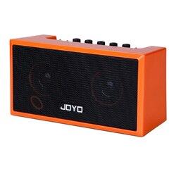 JOYO TOP-GT Mini Folk Chitarra Di Legno Amplificatore Altoparlante Portatile Bluetooth Ricaricabile Per I Bambini Istruzione Regalo-Arancione Nero