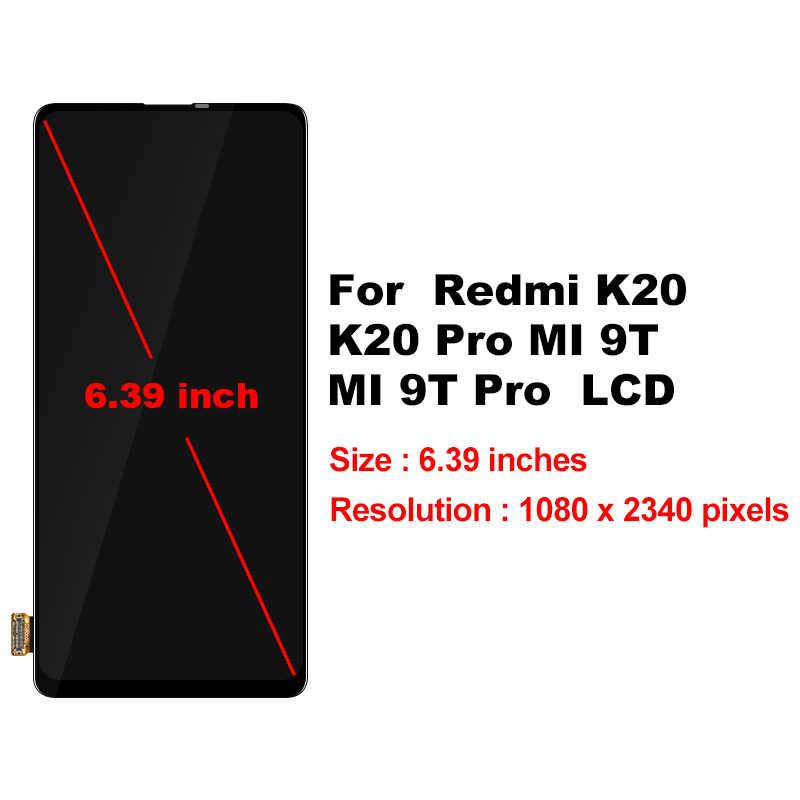 """6.39 """"עבור שיאו mi MI 9T LCD 9T פרו תצוגת מגע מסך Digitizer לשיאו mi אדום mi K20 Pro LCD מסך K20 החלפת חלקים"""