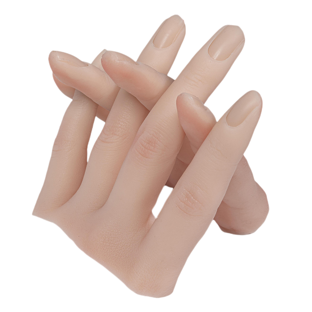 nail art ferramenta formacao pratica dedo dedos de silicone flexivel carrinho de