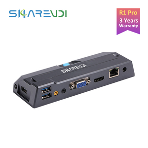 R1 Pro Quad-core 2.0Ghz Zero Client 1G RAM 8G Flash Computing Thin Client Cloud Terminal Virtual Computer Protocol HVDP/RDP8.1
