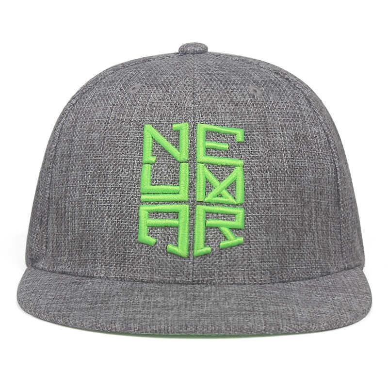2019 חדש גברים נשים Neymar JR njr ברזיל בייסבול כובע היפ הופ עור שמש כובע Snapback כובעי מתכוונן אבא כובעים