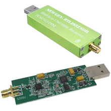 Новый женский блог RTL SDR RTL2832U SMA RTLSDR SDR AM NFM FM DSB USB программно определяемое радио оптовая продажа быстрая доставка дропшиппинг