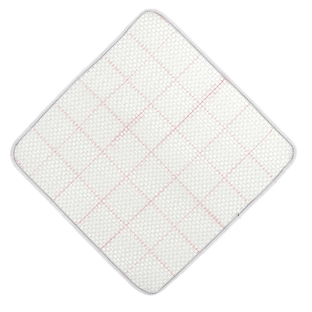 Blanc loquet crochet tapis toile pour tapis coussin tapis tapisserie artisanat faisant 15x15''