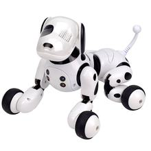 Electric remote control intelligent robot dog children's educational early childhood parent-child interactive toy(China)