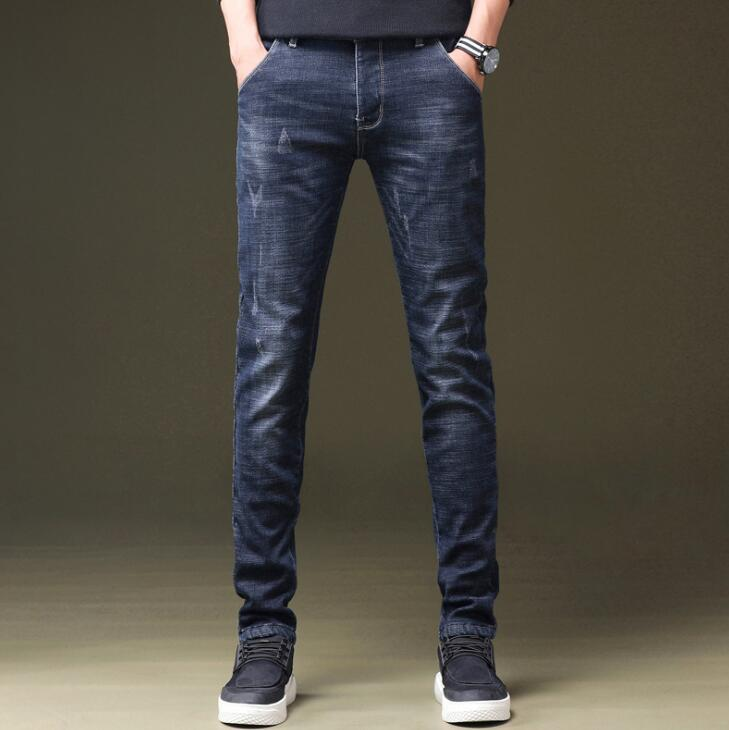 2019 High Quality Stretch Men Jeans On Hot Sales Fashion Long Pants Free Shipping