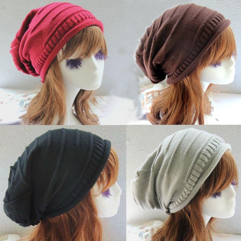 Fashion Knitting Hat Winter Hats For Women Skullies Beanies Warm Cap Men Beanie Hat High Quality Headgear