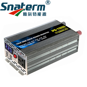 1000W Pure Sine Wave Power inverter DC12/24/48/60/72V to AC220/230/240V 50HZ60HZ off grid inverter with ac charger UPS function