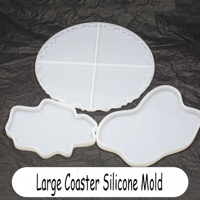 Large Irregular Cup Tray UV Resin Epoxy Mold Resin Coaster DIY Silicone Craft Epoxy Resin Art Supplies Jewelry Accessories