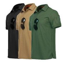 Tops Fitness-Training-Clothes Outdoor-Climbing T-Shirt Tactical Men Short-Sleeve Loose