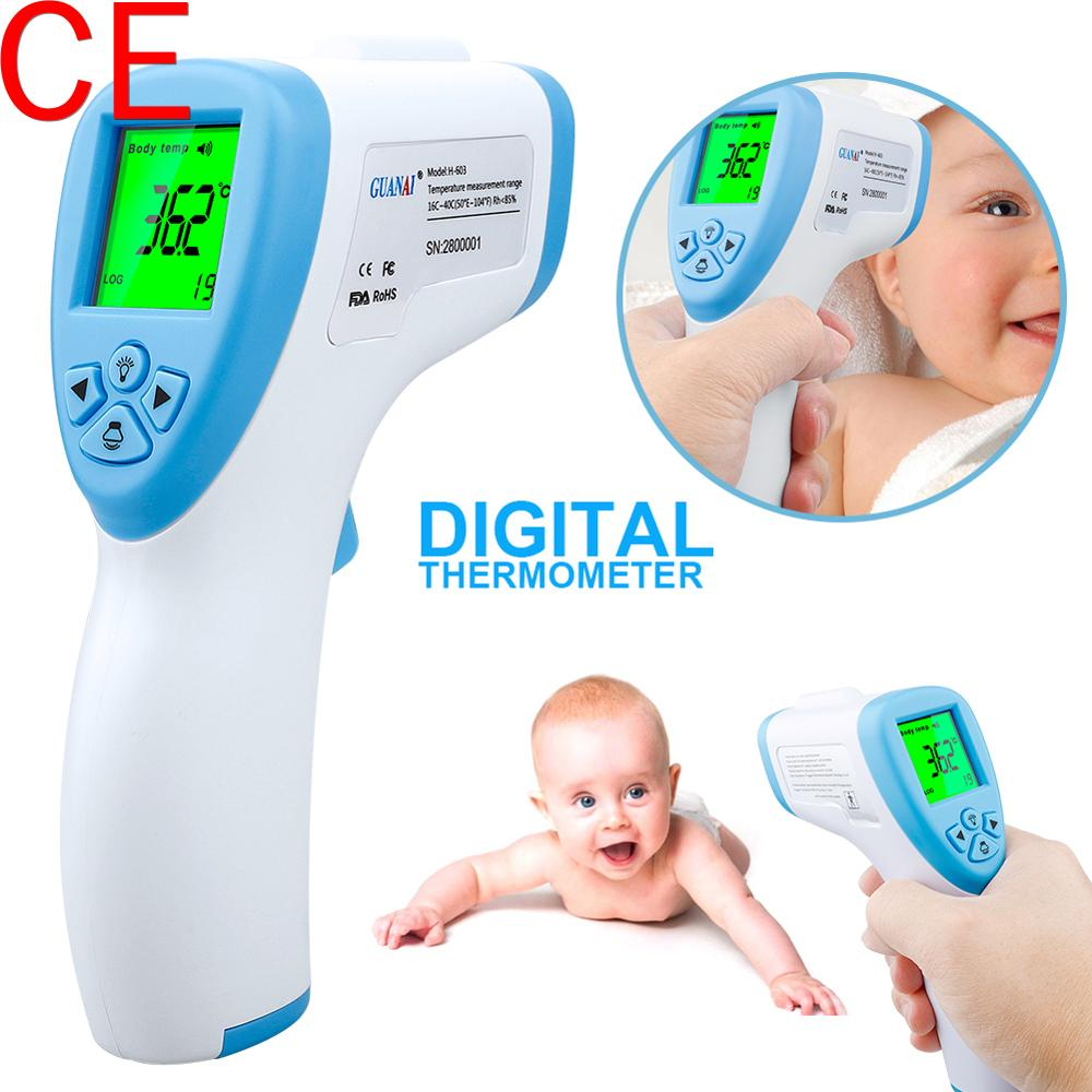 Non-contact Infrared IR Temperature Baby Adult Infrared Temperature Meter Digital Temperature Gun LCD Display Termometro 2020