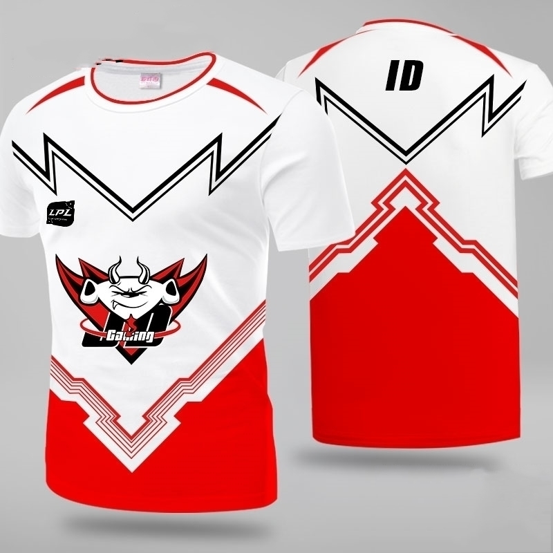 Футболка lol lpl 2020 с эмблемами киберспорта футболка эмблемой