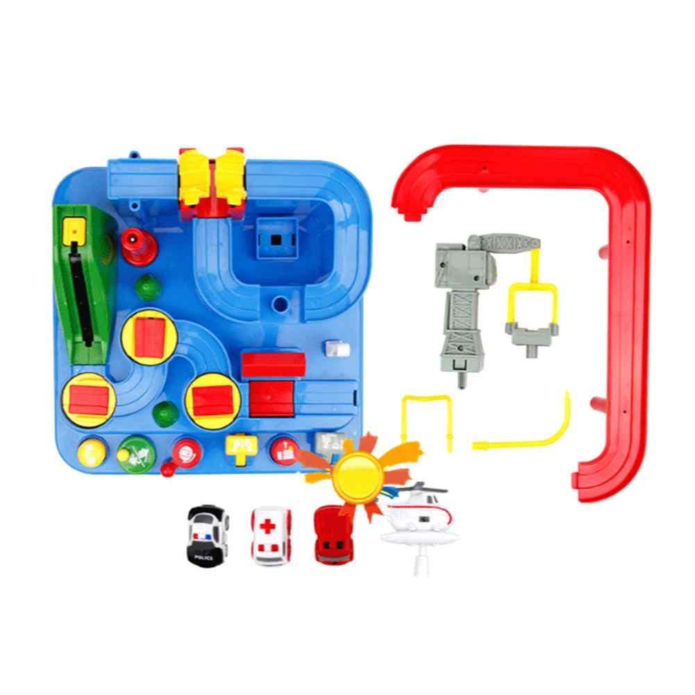 Трек инерционная игрушка для автомобиля многофункциональные Shaoguan большие приключения игрушечный рельс автомобиль детские развивающие игрушки рождественские подарки