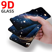 9D Tempered Full Cover Protective Glass on For Huawei Y9 Prime 2019 Y7 2020 Y6 Pro Y5 Prime Y7 2018 Y9S Screen Protector Film 9d glass for huawei y7 y9 2018 protective glass for huawei y9 2019 y9 prime y7 prime 2019 jkm lx1 p smart z screen cover film