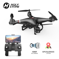 Holy Stone HS110G GPS Drone With 1080P HD Camera FPV Live Video RC Helicopter FOV 120° Wide Angle RC Drone Camera Quadcopter