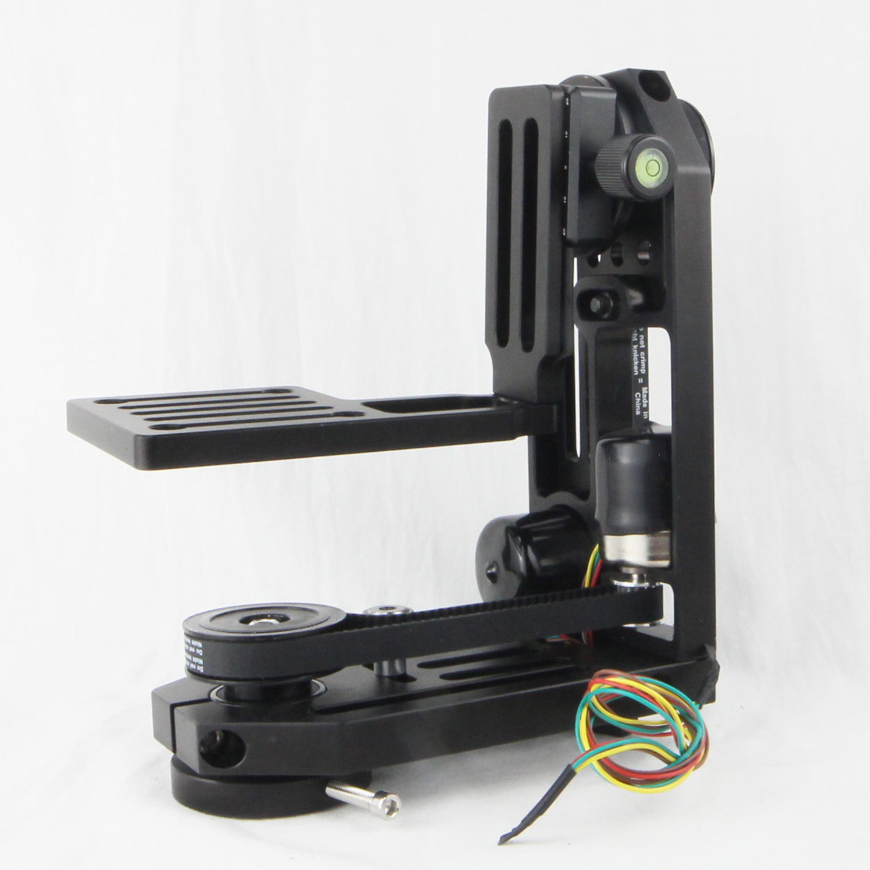 PT 0SM MOCO motion control pan tilt head with 2 stepper motors without controller for stop motion in Photo Studio Accessories from Consumer Electronics