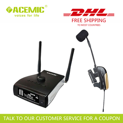 ACEMIC PR-8/ST-1 Professional stage antenna diversity wireless saxophone trumpet microphone system