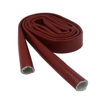 1M silikon włókno szklane rękaw żaroodporny ogień rękaw ochronny rękaw izolacji azbest rękaw ochrony węża id4-30mm tanie i dobre opinie CN (pochodzenie)