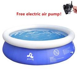 Большой плавательный бассейн надувной бассейн детский бассейн домашний надувной бассейн для взрослых семейная Ванна открытый детский бас...