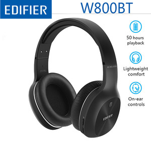 Image 2 - Edifier W830BT / W800BT Wireless Headphones Stereo Sound Bluetooth Headset BT 4.1 with 3.5mm Cable for iPhone Samsung Xiaomi
