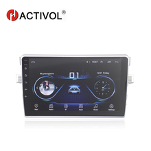 "HACTIVOL 9 ""2 דין אנדרואיד 9.1 רכב רדיו עבור טויוטה Verso EZ 2010 2015 DVD לרכב מולטימדיה נגן GPS ניווט רדיו BT WIFI"
