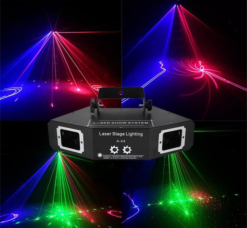 Yayao conduziu a fase perfeita do efeito do feixe super ac100-240 v 50 = 60 hz de 60 w para a luz do laser do rgb dos clubes de festa do dj disco