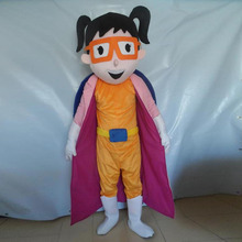 Hot new Mask man Mascot Costumes Parade Quality PJ costumes Birthdays Catboy