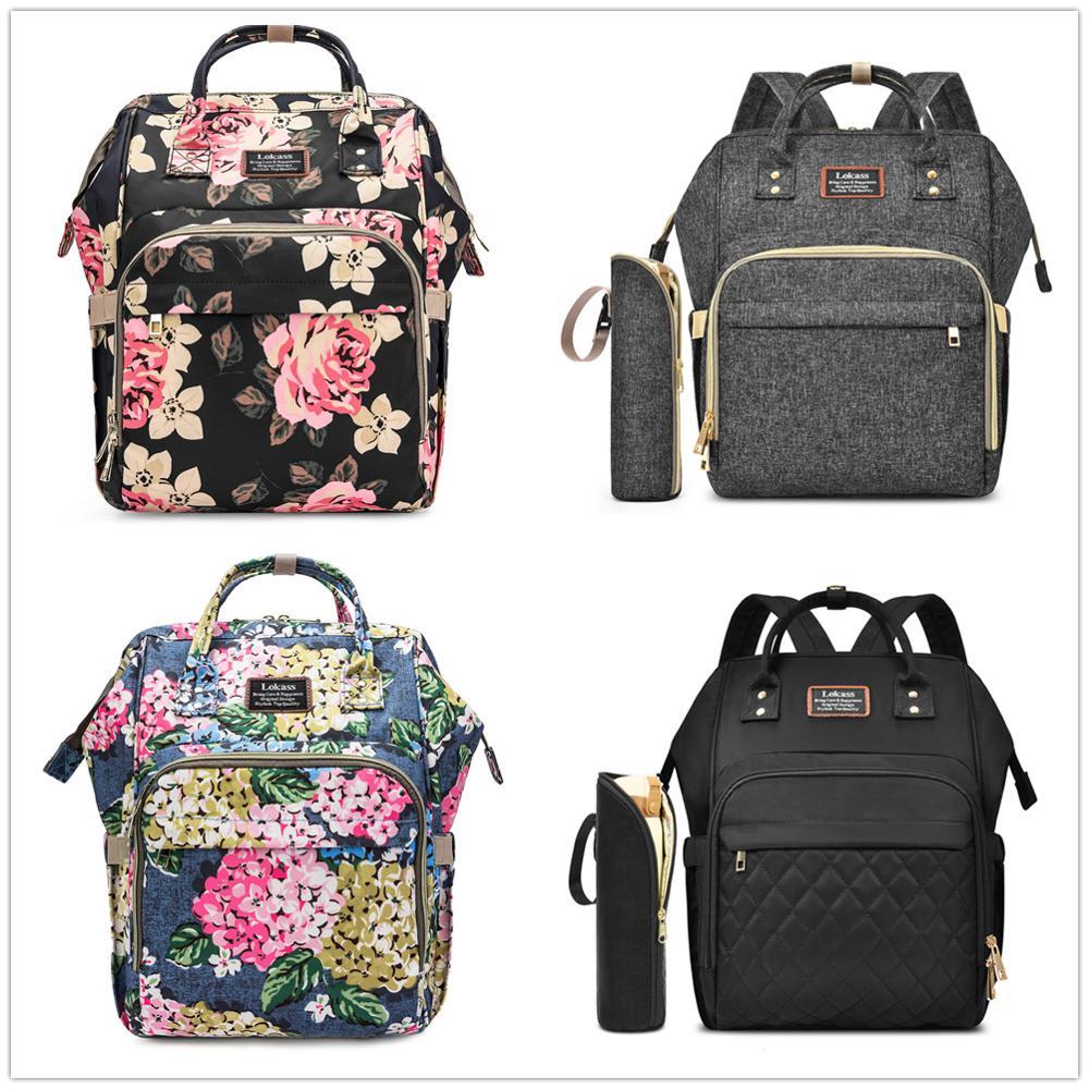 Women Casual Multipurpose Waterproof Mother Kids Diaper Bag Mommy Baby Bag Large Capacity Backpacks Packs Totes New