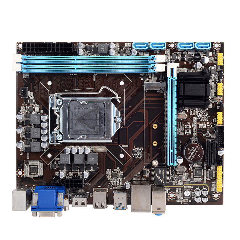 H110 Mainboard <font><b>Motherboard</b></font> Portable Easy Install Module Dual Channels Solid State Replacement Part For Desktop DDR3/DDR4 Memory image