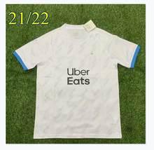 Chemise de football de Marseille, t-shirt de soutien, 2021