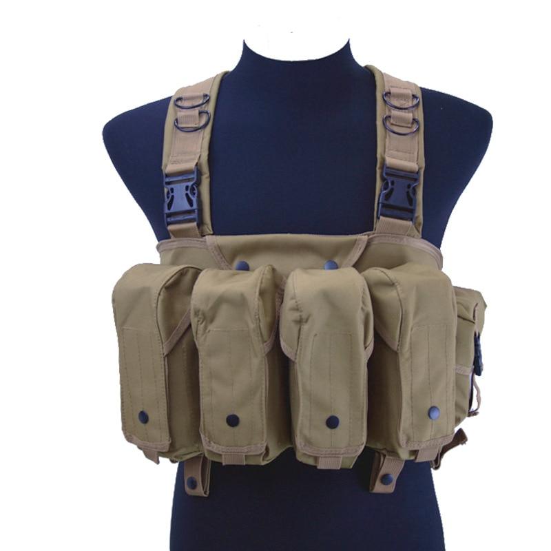 Tactical Vest Chicken Waistcoat Apron Vest Molle Camouflage Multi-functional Combat Vest CS Tactical Equipment
