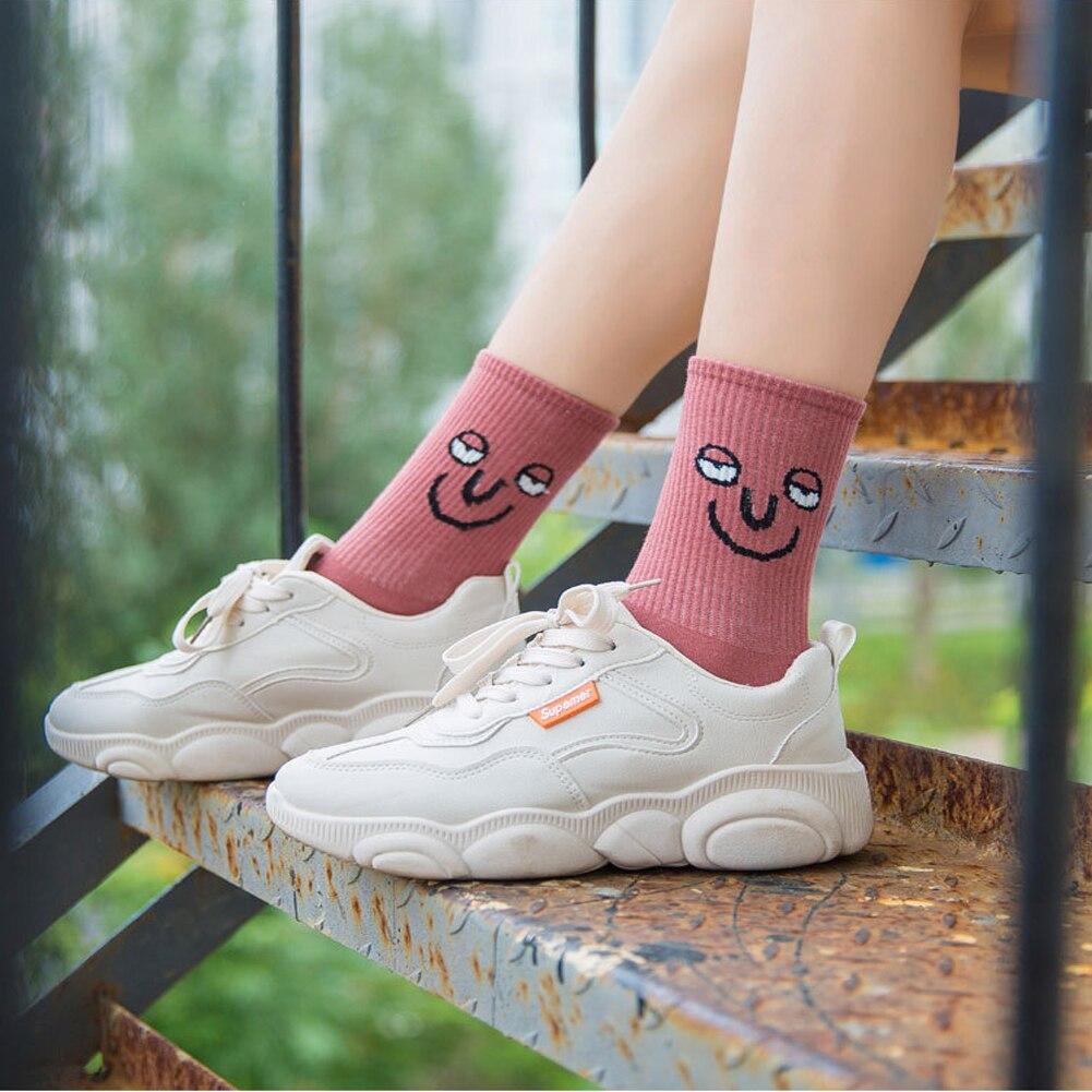 Unisex Surprise Mid Men Socks Harajuku Colorful Funny Socks Men Cotton 1 Pair Kawaii Christmas Socks Winter Streetwear Socks