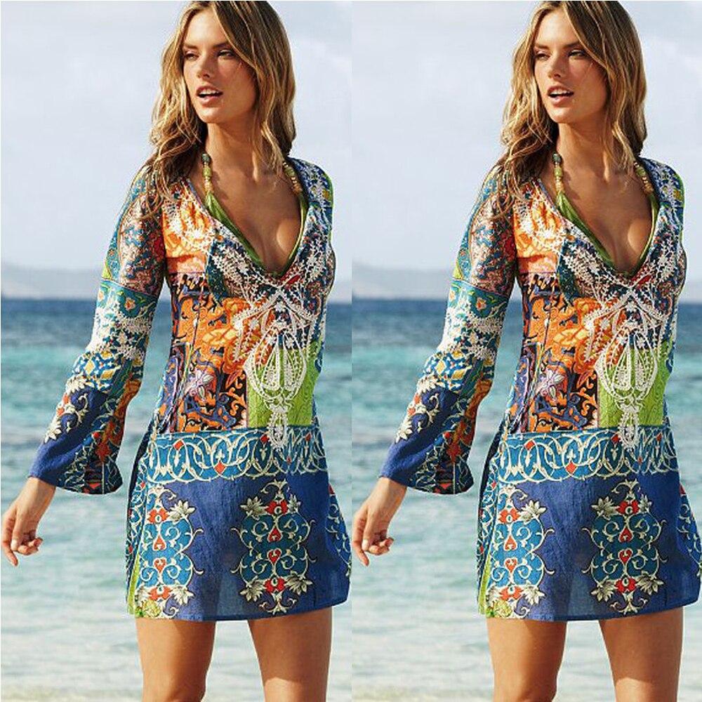 Imcute, женское бикини с v-образным вырезом, сексуальный шифоновый пляжный купальник, платье, шарф, парео, саронг, женское летнее платье